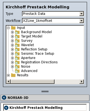 Kirchhoff Prestack Workflow