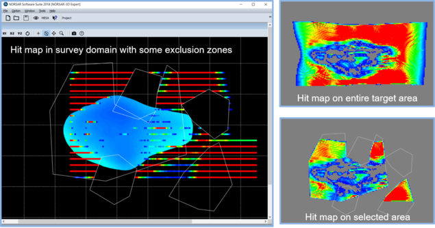 NORSAR Software Suite 2018 - Exclusion Zone